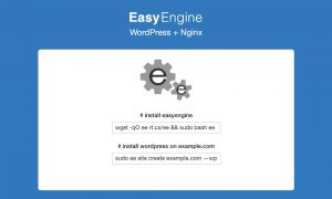 EasyEngine - Easy Peasy VPS